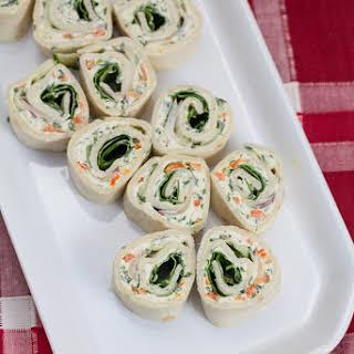 Veggie Cream Cheese Roll-ups.