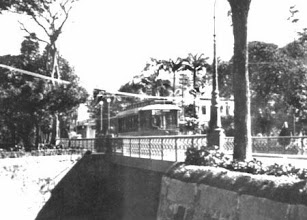 Photo: Bonde do centro. Foto da década de 20