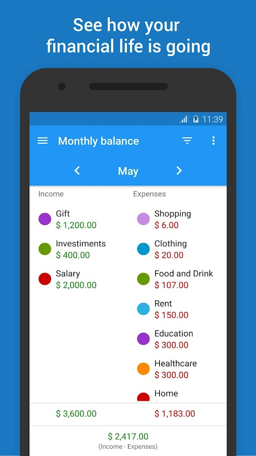 Mobills Budget & Money Manager- screenshot