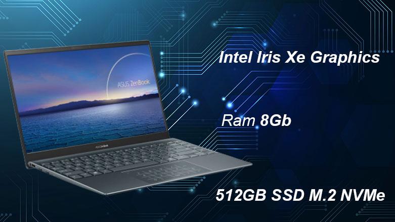 Laptop Asus UX425EA-KI429T | Hiệu năng vượt trội