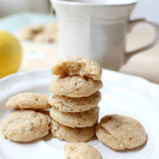 Mini Lemon-Almond Chia Cookies.