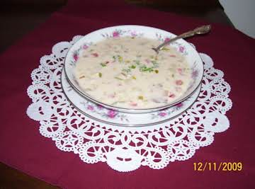 Corn/Crabmeat Chowder
