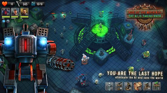 Td Vs Zombies Hacked Robots