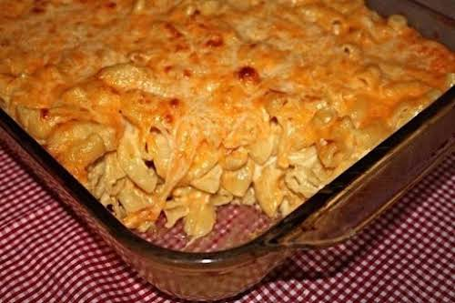 """Click Here for Recipe: 8-Cheese Baked Macaroni """"Made this the other night...."""