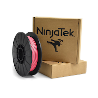 NinjaTek Cheetah Flamingo Pink TPU Filament - 2.85mm (0.5kg)