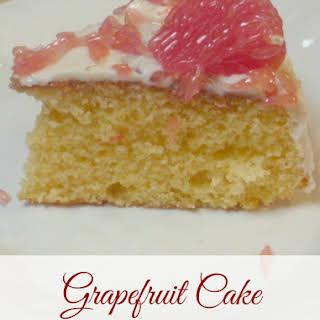 Grapefruit Cake.