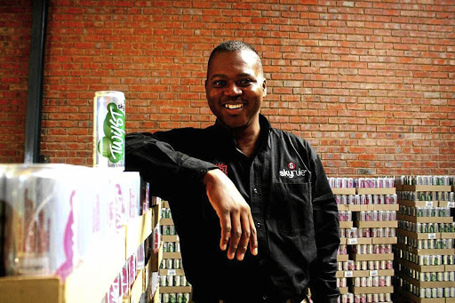 Sammy Mhaule, the owner and managing director of the ever-growing Skyrule Drinks, honed his business skills selling ice cream and live chicken on street corners.