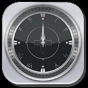 Silver Analog Clock