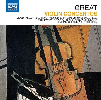 """Photo: Jubiläumsbox """"Great Violin Concertos"""" Brillante Violinkonzerte"""