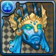 古代の蒼神面