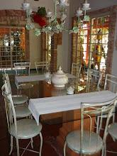 Photo: Utensílios de cerâmica branca à mesa. http://celiamartins.blogspot.com/