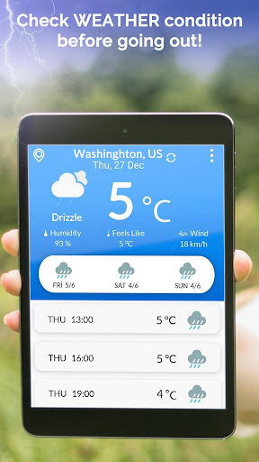 Weather Forecast: Today Temperature, Local Weather 2.0 screenshots 7