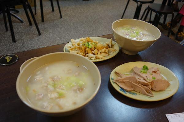 捷運永安市場站 中和四號公園消夜推薦 阿榮本家香菇肉粥/米粉湯