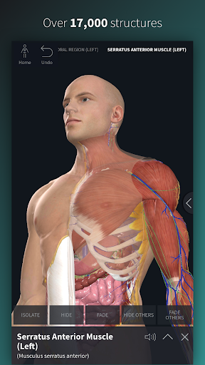 Complete Anatomy Platform 2020 screenshot for Android