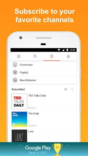 CastBox: Free Podcast Player, Radio & Audio Books 7.5.8-180107017 screenshots 3