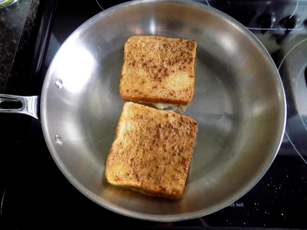 Heat a non-stick skillet, add enough oil to coat bottom of the pan (about...