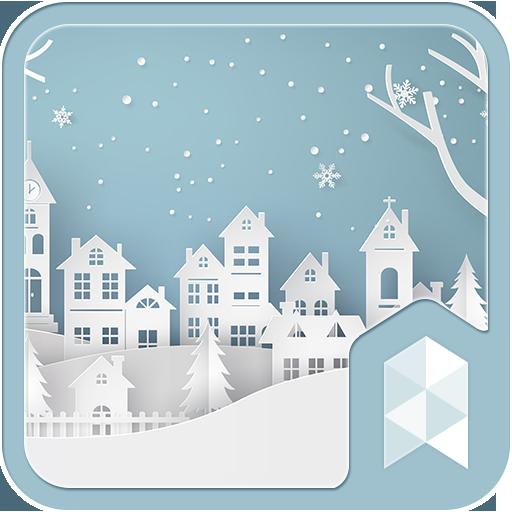 Paper Winter Snow theme