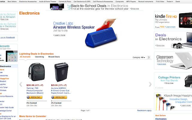 Amazons #1 Electronics