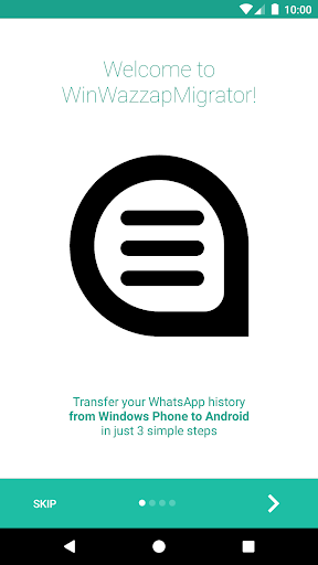 WinWazzapMigrator  screenshots 2