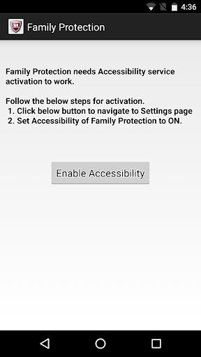 McAfee Family Protection screenshot 2