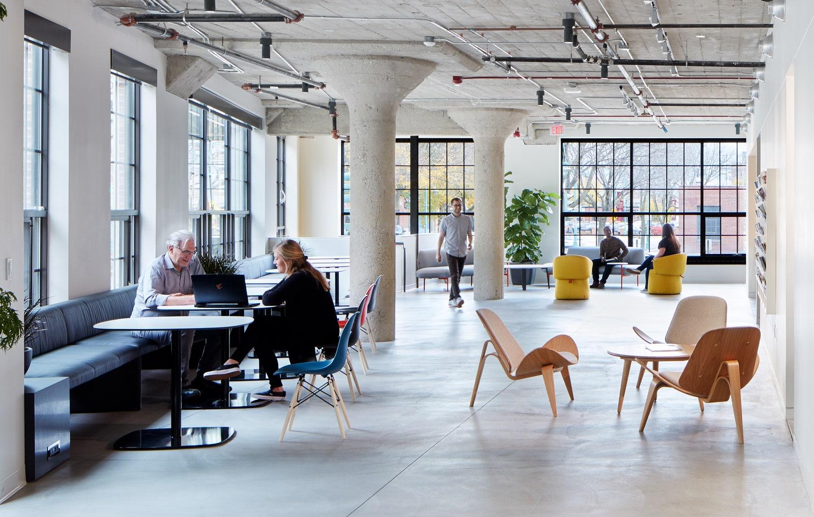 bureaux de style déco scandinave exemple MDO