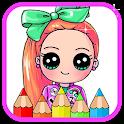 Cute Jojo Coloring Book icon