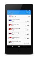 Screenshot of JCurrency