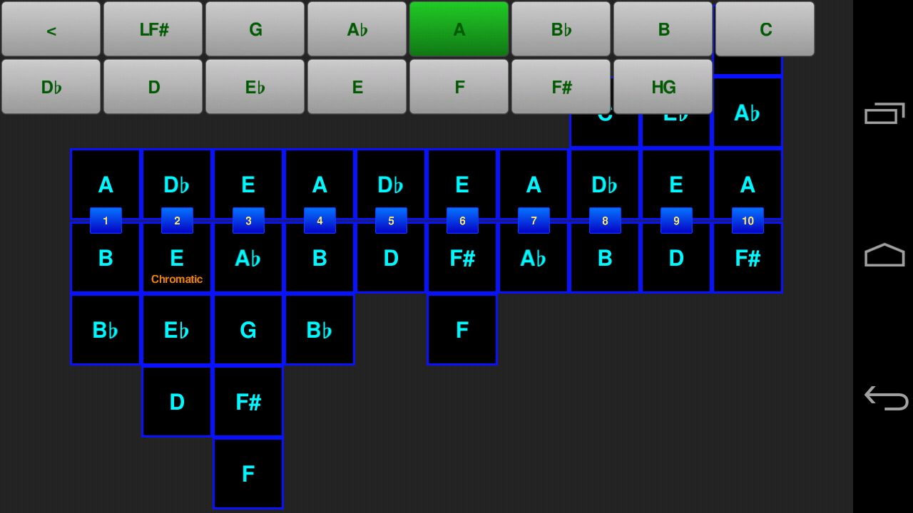 Bendometer Mobile - screenshot