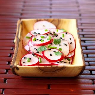 Radish Sesame Salad