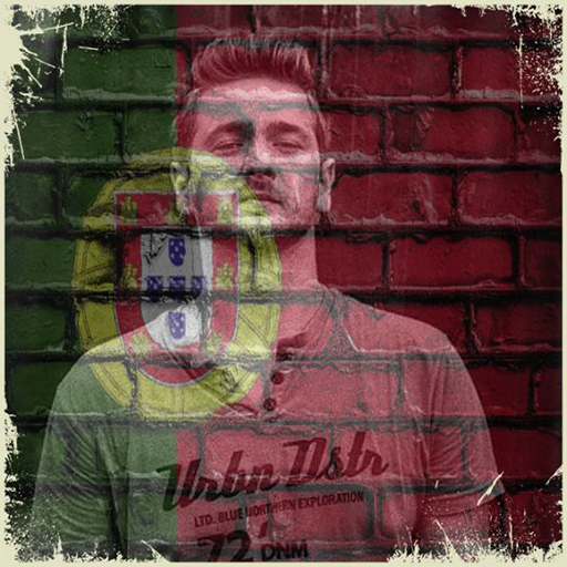 Portugal Flag On Face Maker : Photo Editor