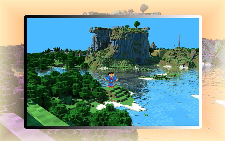 android Super Craft Hero Man Run World Screenshot 0