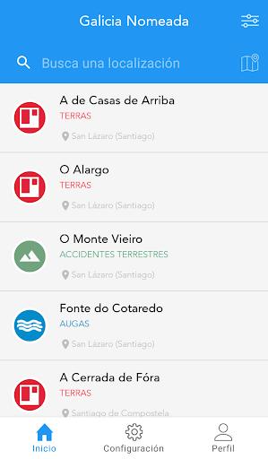Galicia Nomeada screenshot 4