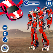 Flying Car Robot Transformation Game