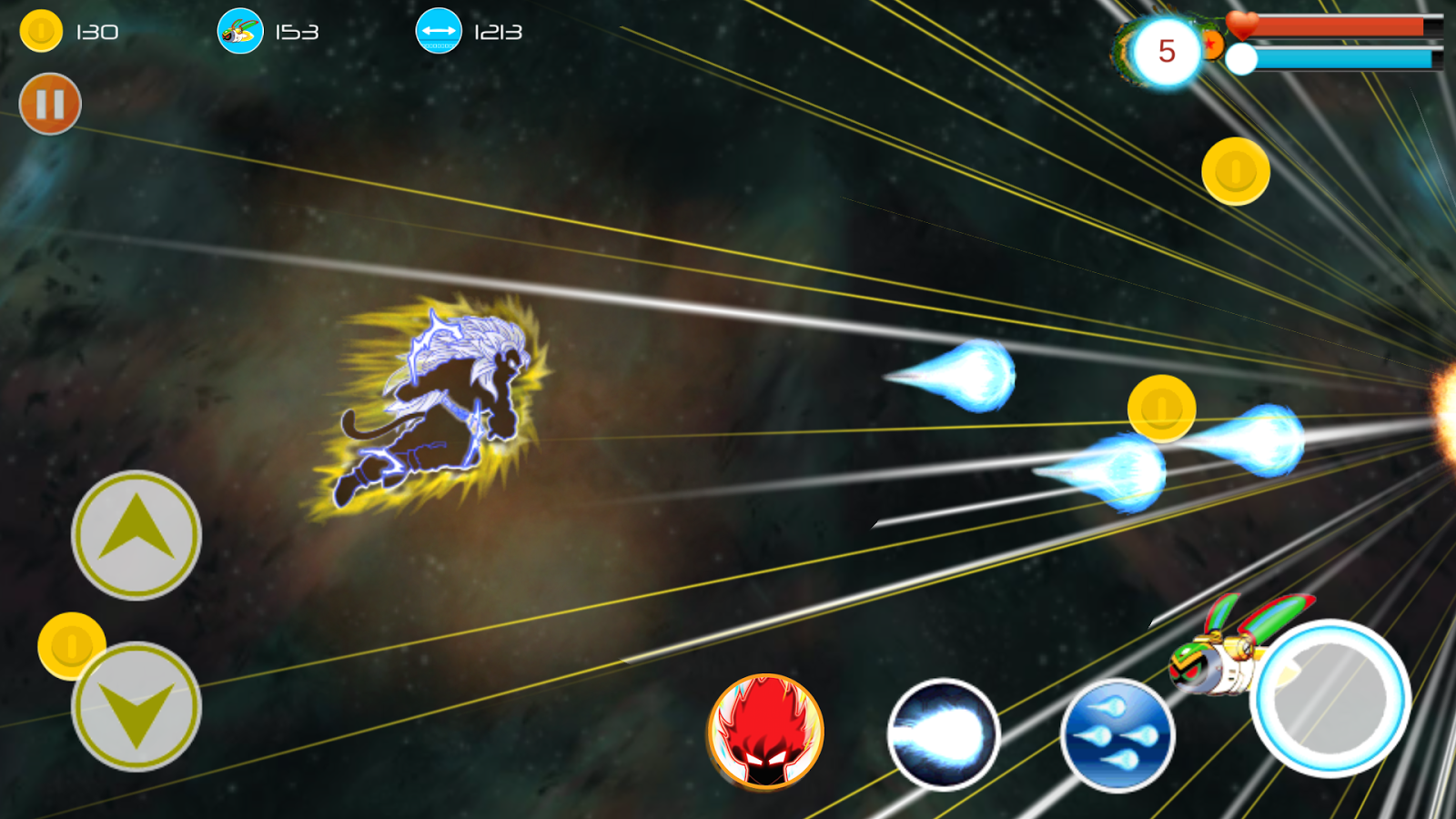 Dragon Ghost Super Warrior- screenshot