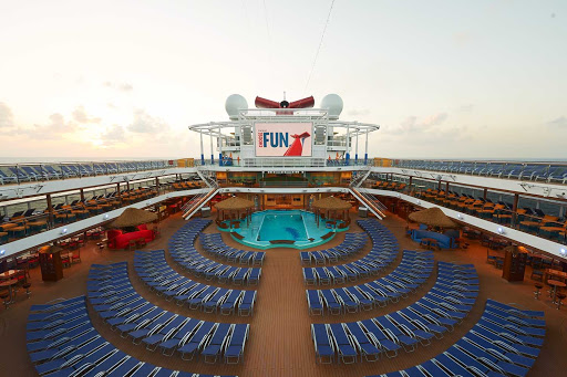 carnival-panorama-Pool-Deck.jpg - Head to the Pool Deck for fun in the sun during a jaunt down the west coat of Mexico on Carnival Panorama.