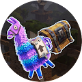 Fortnite Map With Llamas and Chests APK