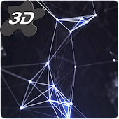Abstract Particles III 3D Live Wallpaper