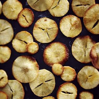 Baked Cassava Chips.