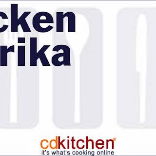 Pressure Cooker Chicken Paprika.