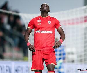 Abdoulaye Seck probablement suspendu pour le déplacement à Bruges