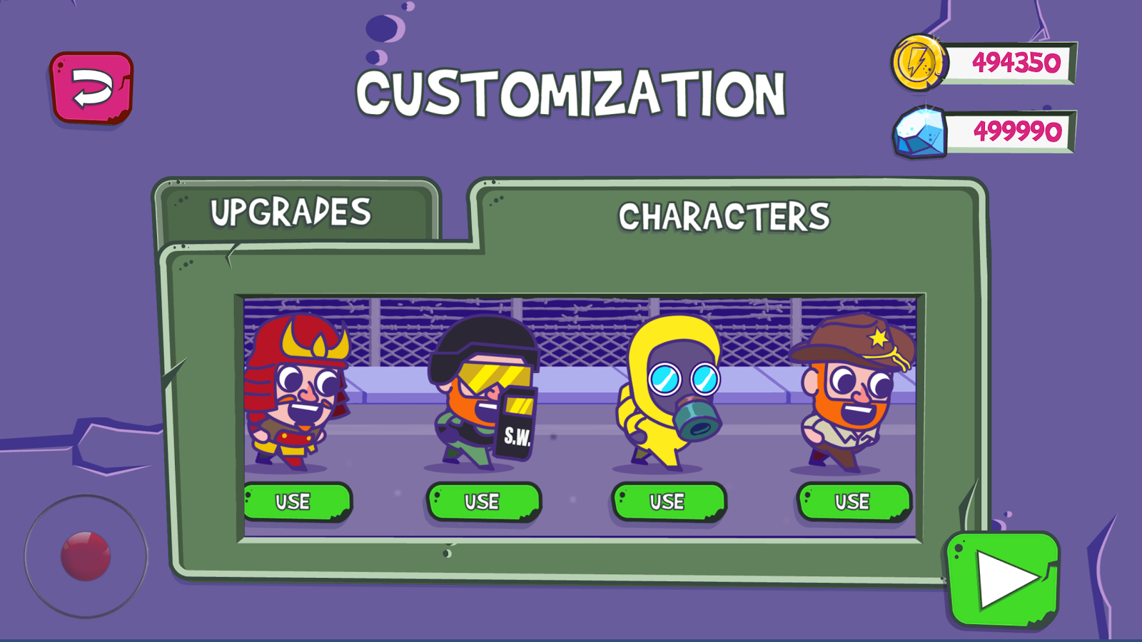 Crossy Zombie for MotionPlay- screenshot