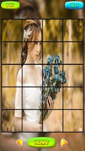 Svatební Puzzle hry - náhled