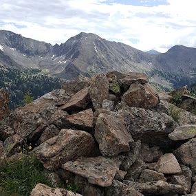 The beauty of the Colorado Rockies by Denise Parker - Nature Up Close Rock & Stone