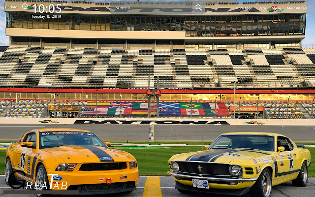 Ford Mustang Wallpapers Theme|GreaTab