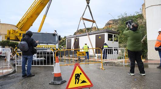 Endesa comienza la instalación de dos transformadores en Pescadería y La Chanca