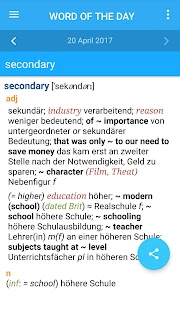 Collins Complete German Dictionary- screenshot thumbnail