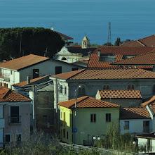 Photo: Zambrone e il campanile,Calabria.