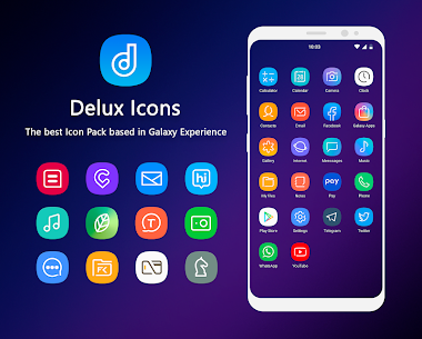 Delux – Icon Pack (MOD, Paid) v2.2.3 1