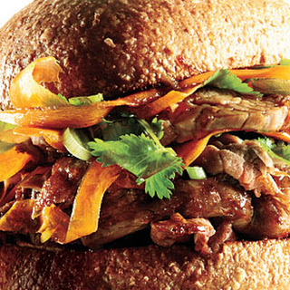 Soy-Marinated Pork Sandwiches