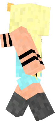 This is my OC that I made into a skin :D